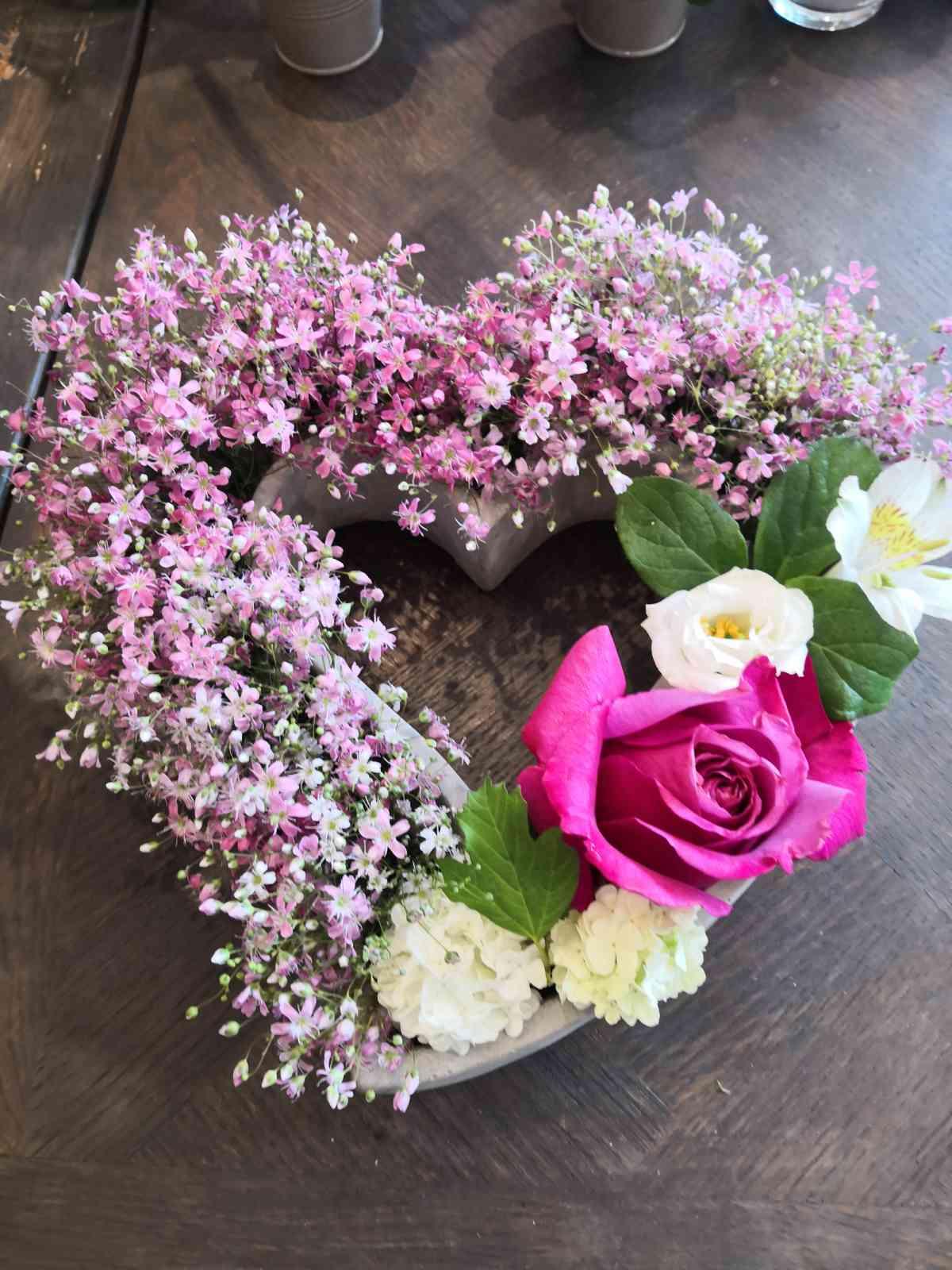 125 Décoration florale pour des évènements (mariage, anniversaire, etc.) | Aux Quatre Saisons à Boissy-Saint-Léger