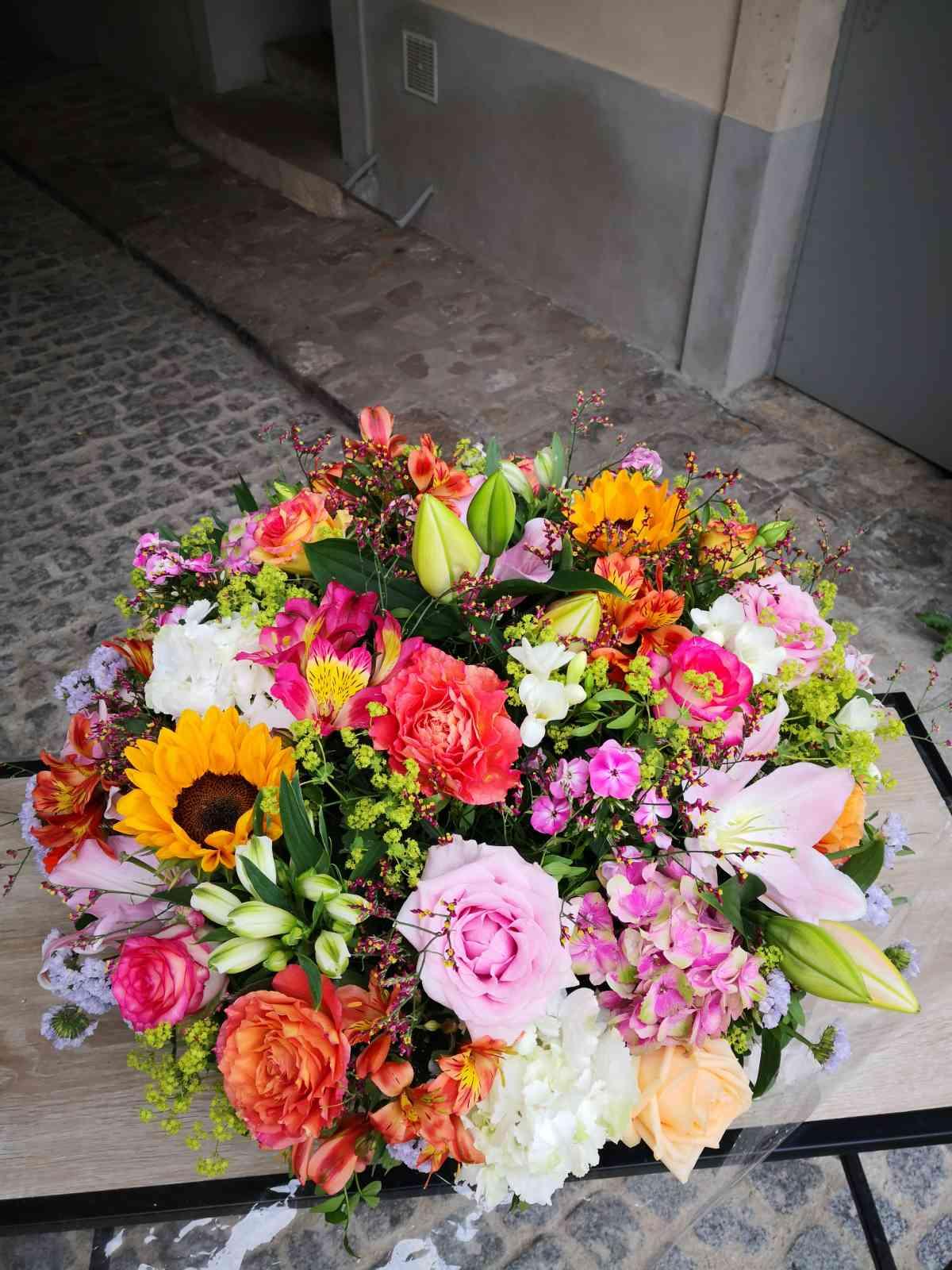 208 Décoration florale pour des évènements (mariage, anniversaire, etc.) | Aux Quatre Saisons à Boissy-Saint-Léger